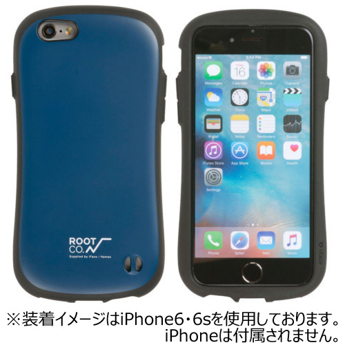 【iPhone7】ROOT×iFace Gravity Shock Resist Case ネイビー