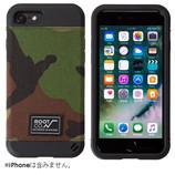 【iPhone7】 ROOT Gravity Shock Resist Case ウッドランドカモ