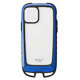 【iPhone11Pro】 ROOT CO.(ルートコー) Gravity Shock Resist Case +Hold. ブルー