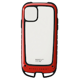 【iPhone11】 ROOT CO.(ルートコー) Gravity Shock Resist Case +Hold. レッド