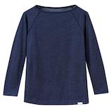 スリープデイズ(Sleepdays) ロングTシャツ メンズ XLサイズ グレー│下着・インナー