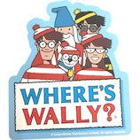 ゴーウェル(gowell) ウォーリーをさがせ! スーツケースラベル 仲間