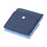 近畿日本ツーリスト×東急ハンズ トラベルWウォレット ネイビー×ブルー│財布・名刺入れ 二つ折り財布