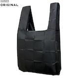東急ハンズオリジナル ポケットスクエアバッグ 大容量タイプ ブラック│エコバッグ・ショッピングカート