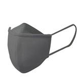 リーフフレッシュ(Leaffresh) ぴったりフィットマスク(接触冷感) Mサイズ LC-0072 グレー│ヘルスケア マスク・花粉対策グッズ