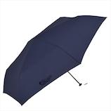 ニフティカラーズ デニムプリントカーボン軽量ミニ 60cm 5108 ネイビー│レインウェア・雨具 日傘