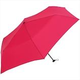ニフティカラーズ カーボン軽量ミニ 55cm 1414RP ローズピンク│レインウェア・雨具 折り畳み傘