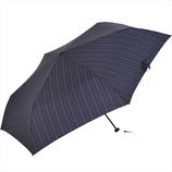 ニフティーカラーズ(NiftyColors) ストライプカーボン軽量ミニ60 5110NV ネイビー│レインウェア・雨具 折り畳み傘