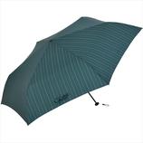 ニフティーカラーズ(NiftyColors) ストライプカーボン軽量ミニ60 5110KH カーキ│レインウェア・雨具 折り畳み傘