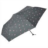 ニフティーカラーズ(NiftyColors) クレヨンハートカーボン軽量ミニ55 1472BK ブラック│レインウェア・雨具 折り畳み傘