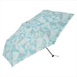 ニフティカラーズ(NiftyColors) ジオメトリックカーボン軽量ミニ55│レインウェア・雨具 折り畳み傘