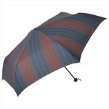 ニフティーカラーズ(NiftyColors) ミックスストライプミニ 5136WN ワイン│レインウェア・雨具 折り畳み傘