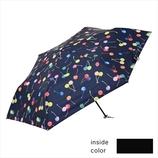 ニフティーカラーズ(NiftyColors) 遮光ナイトチェリーカーボン軽量ミニ55 1536NV ネイビー│レインウェア・雨具 折り畳み傘
