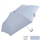 ニフティーカラーズ(NIFTY COLORS) 遮光フラワーヒートカットミニ 2286SX サックス│レインウェア・雨具 日傘