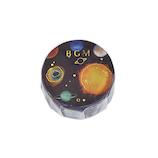 ビージーエム(BGM) マスキングテープ ライフ 箔押し 金箔 15mm BM-LGCA002 金色惑星