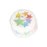 BGM マスキングテープ 型抜き BM‐DR004 虹色の星