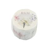BGM マスキングテープ BM‐LB010 満開の花