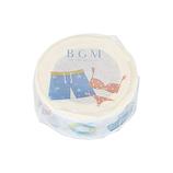 BGM マスキングテープ BM‐LLA003 海辺