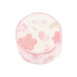 ビージーエム(BGM) マスキングテープ 桜 BM−SPSA007 舞い桜