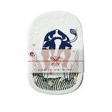 エコンフォートハウス ポップアップスポンジ kata kata 福福PUS 丑とムスカリ 希望│清掃用具 バケツ・雑巾