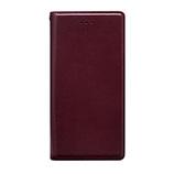 【iPhone8/7】HANSMARE (ハンスマレ) 手帳型 スタンディングダイアリー アイフォンカバー ワイン