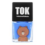 TOK LINEFRIENDS(ラインフレンズ) ハイブリッドネイル カラーマニキュア TLH01 ロイヤルブルー 10mL
