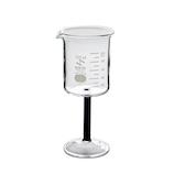 セキヤ ビーカーワイングラス 100mL 72-800-132 ブラック