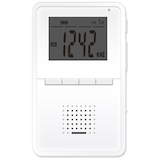 STAYER 防水充電式 AM/FMラジオ 1.8インチ SH-GDRD-RB│オーディオ機器 ラジオ