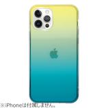 【iPhone12/12Pro】 EYLE Carat グラデーション グリーン│携帯・スマホケース iPhoneケース