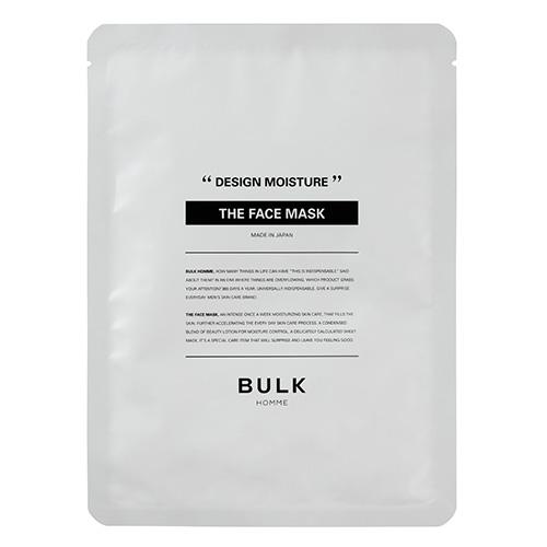 BULK HOMME(バルクオム) ザ・フェイスマスク 33ml 5枚入│メンズコスメ・男性化粧品 その他 男性化粧品