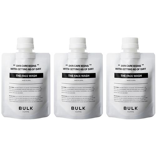 【お買い得】【通販限定】バルクオム 洗顔料3個セット ノベルティ付き│メンズコスメ・男性化粧品 男性用洗顔料