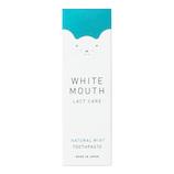 ホワイトマウス デンタルクレンジングペースト ナチュラルミント│オーラルケア・デンタルケア 歯磨き粉