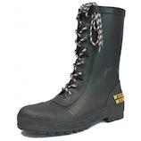 ワイルドウィング フラミンゴ 長靴 2L RIN-001 ブラック│レインウェア・雨具 レインブーツ