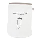 とみおかクリーニング ランドリーネット 筒型 大│洗濯用品 洗濯ネット