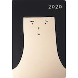 【2019年10月始まり】 MATOKA オトメ クロカミ B6 マンスリー DR‐MH‐094 ブラック 月曜始まり