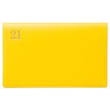 【2020年12月始まり】 ラコニック(LACONIC) 仕事計画ダイアリー 通帳 縦開き1ヶ月ブロック LCBD01-100YE イエロー 月曜始まり