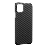 【iPhone11Pro】 monCarbon HOVERKOAT フルカーボンケース HKXI01 ステルスブラック