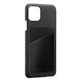【iPhone11ProMax】 monCarbon HOVERSKIN サフィアーノ HSXI03 ステルスブラック