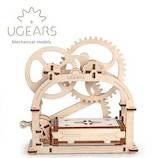ユーギアーズ(UGEARS) メカニカルモデル メカニカルボックス 70001│工作用品 工作キット