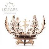 ユーギアーズ(UGEARS) メカニカルモデル メカニカルフラワー 70019│工作用品 工作キット
