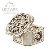 ユーギアーズ(UGEARS) メカニカルモデル トレージャーボックス 70031│工作用品 工作キット