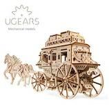 ユーギアーズ(UGEARS) メカニカルモデル 駅馬車 70045│工作用品 工作キット