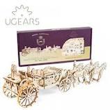 ユーギアーズ(UGEARS) メカニカルモデル ロイヤルキャリッジ 70050│工作用品 工作キット