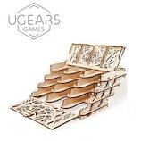 ユーギアーズ(UGEARS) メカニカルモデル カードホルダー│工作用品 工作キット