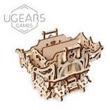 ユーギアーズ(UGEARS) メカニカルモデル デッキボックス│工作用品 工作キット