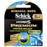 シック ハイドロ5 プレミアム パワーセレクト 替刃4個入 HPPI5-4