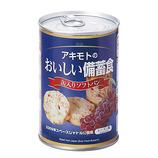 アキモト 缶入りソフトパン レーズン
