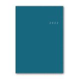 【2021年12月始まり】 日本能率協会 NOLTY アクセス A5 マンスリー 2022-6473 ディープブルー 月曜始まり│手帳・ダイアリー ダイアリー
