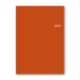 【2021年12月始まり】 日本能率協会 NOLTY アクセス A5-1 ウィークリー 2022-6464 オレンジ 月曜始まり│手帳・日記帳 ダイアリー
