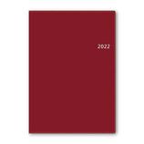 【2021年12月始まり】 日本能率協会 NOLTY アクセス A5-2 ウィークリー 2022-6466 レッド 月曜始まり│手帳・ダイアリー ダイアリー